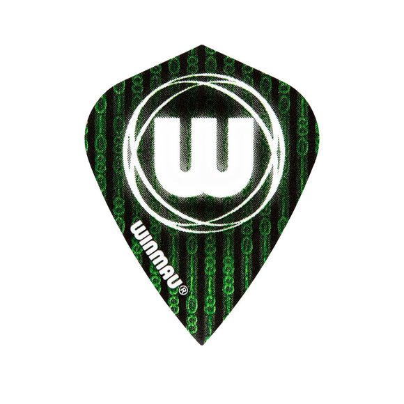 Winmau Kite Poly Dart Flights - Matrix - 10pk