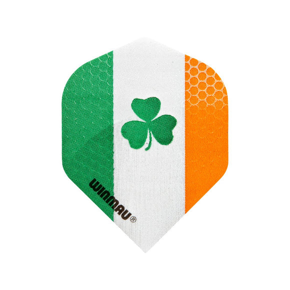 Winmau Mega Standard Dart Flights - Irish - 10pk