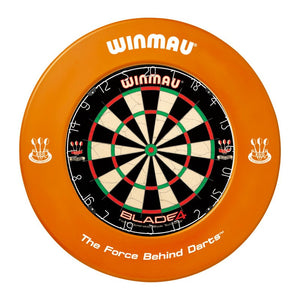 Winmau Dartboard Surround - Printed Orange