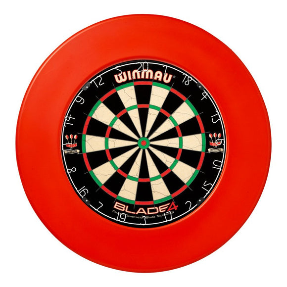 Winmau Dartboard Surround - Plain Red