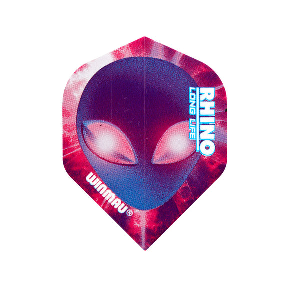 Winmau Purple Alien Rhino Standard Dart Flights