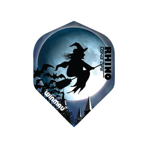 Winmau Witch on a Broomstick Rhino Standard Dart Flights