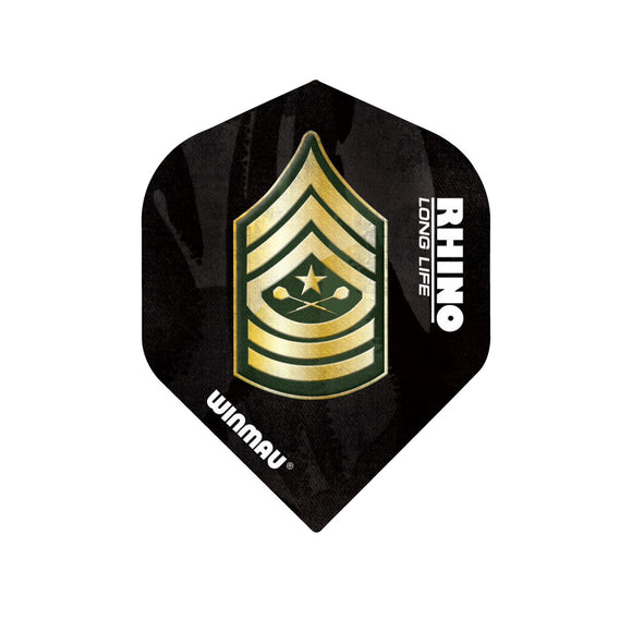 Winmau Dart Badge Rhino Standard Dart Flights