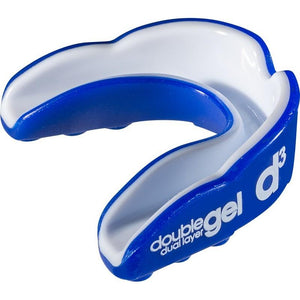 d3 Junior Double Gel Mouthguard - Blue-White (6pk)