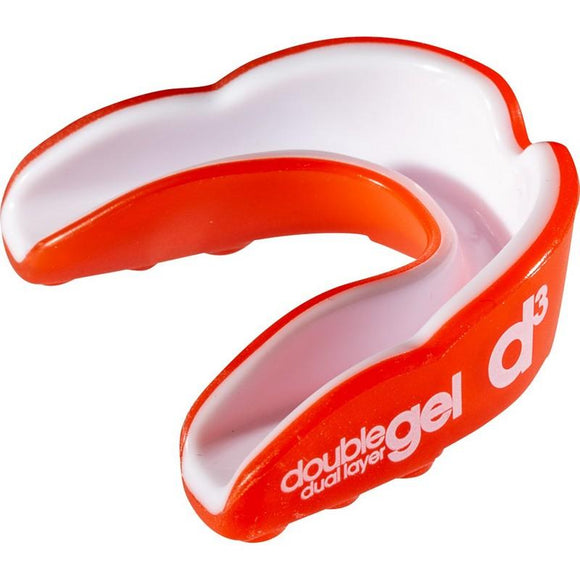 d3 Junior Double Gel Mouthguard Red White x 6