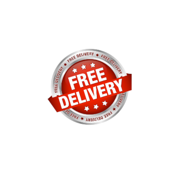 FREE DELIVERY in IRELAND for all our products.