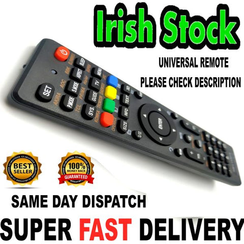 Universal TV Remote for Philips JVC Toshiba LG Samsung