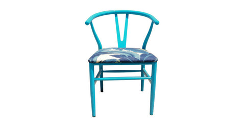 Wishbone Tropical Azul  Silla - Mini Minu | Panama