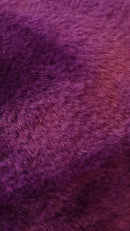 Universal Finesse Faux Fur Front Seat Covers Size 60/25 - Purple