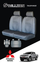 Tailor-Made Mitsubishi Triton Fr 09/2009-10/2011 Dual-Cab Black Stallion