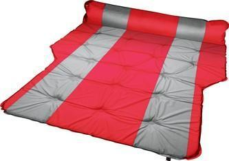 Trailblazer Self-Inflatable Air Mattress With Bolsters and Pillow - RED