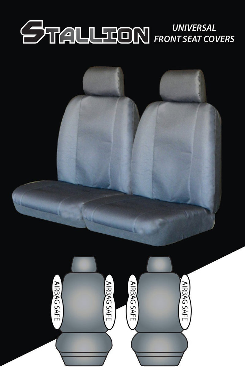 STALLION Universal 30/35 Front Seat Cover - GREY