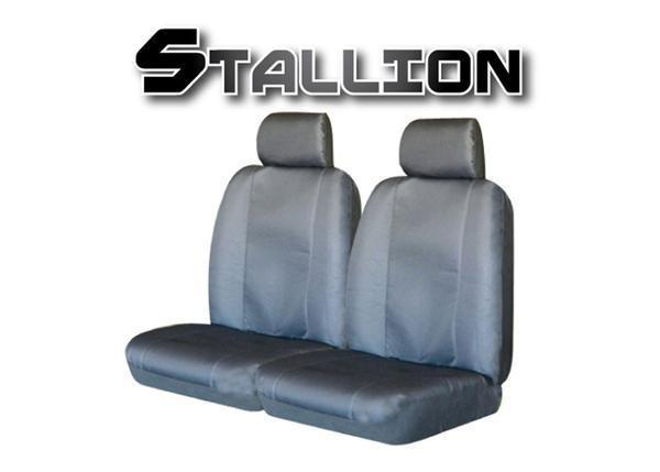 STALLION Universal 60/25 Front Seat Cover - GREY
