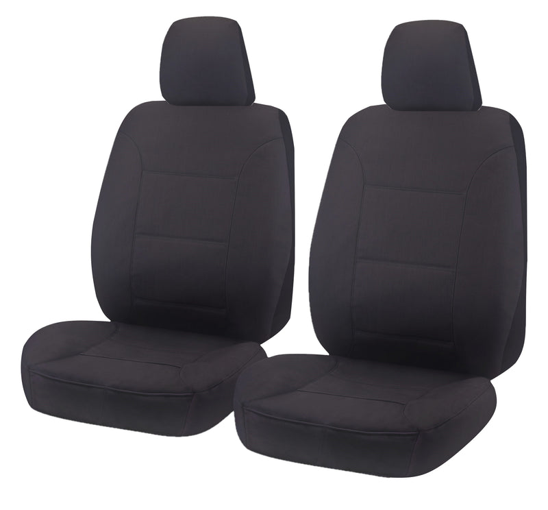 Universal All Terrain Front Seat Covers Size 30/35 - Charcoal