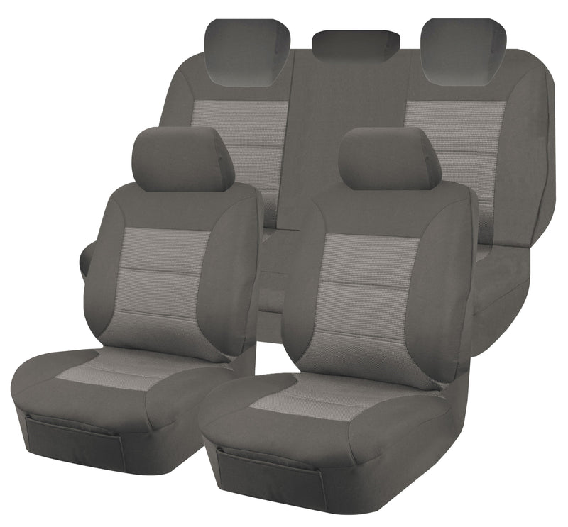 Tailor Made Premium Seat Covers for MITSUBISHI ASX  XA-XB SERIES 06/2010-2016 4X4 SUV/WAGON 5 SEATER GREY