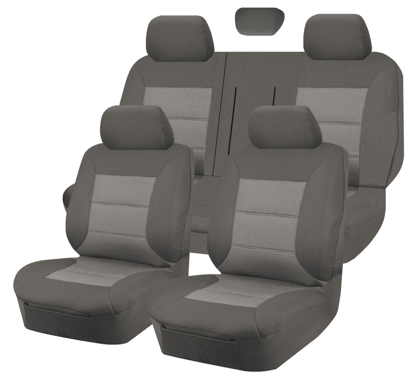 Tailor Made Premium Seat Covers for HOLDEN CAPTIVA CG5 MY10-MY15 SERIES 09/2009-01/2016 4X4 SUV/WAGON 5 SEATER GREY