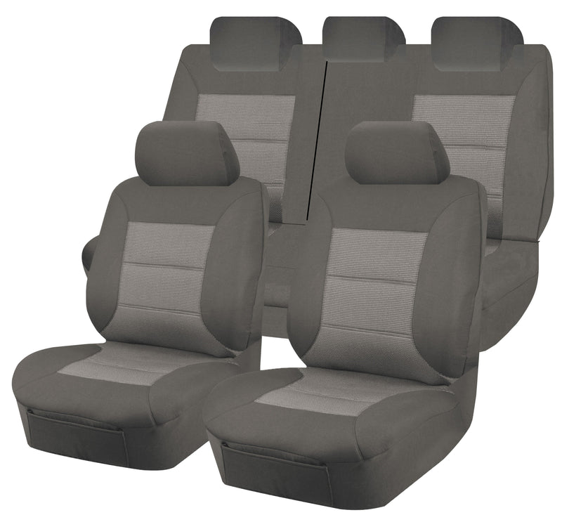 Tailor Made Premium Seat Covers for MAZDA CX5 KE-KEII SERIES 02/2012-2017 MAXX 4X4 SUV/WAGON 5 SEATER GREY