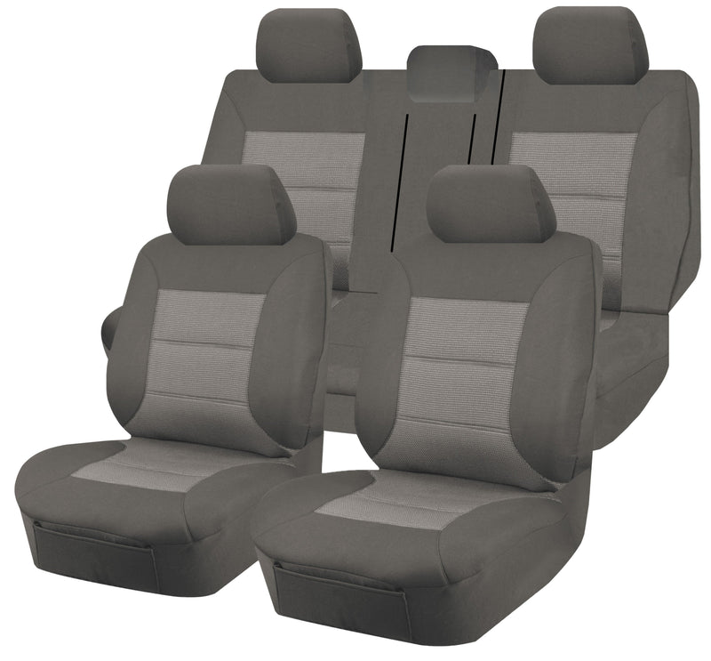 Tailor Made Premium Seat Covers for HYUNDAI ix35 LM SERIES 02/2010-2012 4X4 SUV/WAGON 5 SEATER GREY