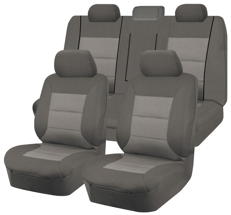 Tailor Made Premium Seat Covers for MITSUBISHI LANCER CJ MY08-MY11 SERIES 09/2007-2011 4 DOOR SEDAN GREY