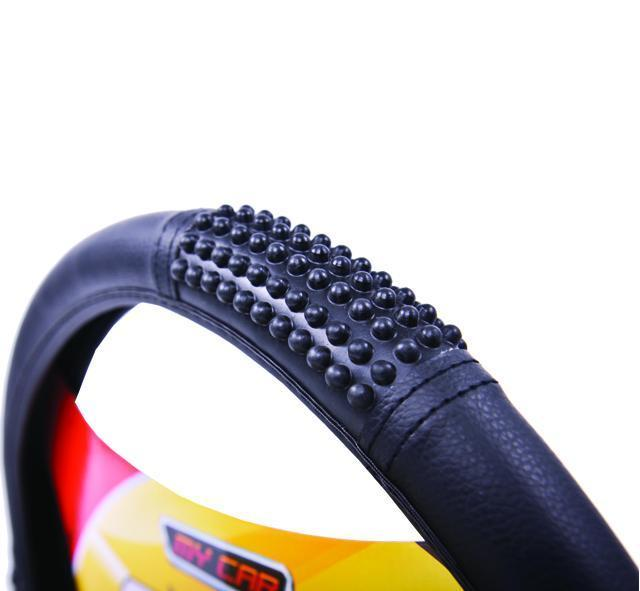 MASSAGE Steering Wheel Cover - BLACK