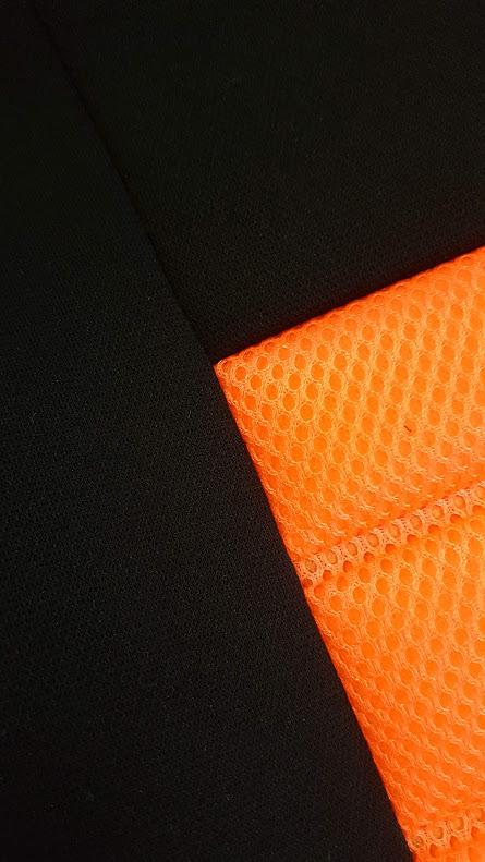 Universal Ice Mesh Rear Seat Covers Size 06/08Z - Orange
