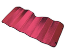 Reflective Sun Shade - Small [130cm x 60cm] - RED