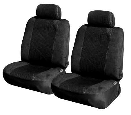 Car Seat Covers for Nissan Patrol GU Wagon 10/2004 - 01/2013 BLACK 3ROWS NEW