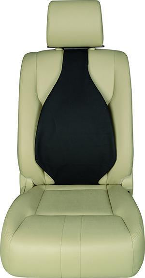 Universal Seat Cover Cushion Back Lumbar Support THE AIR SEAT New BLACK X 2