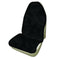 Universal Throwover 20mm Thick Pile Sheepskin Seat Cover - Black