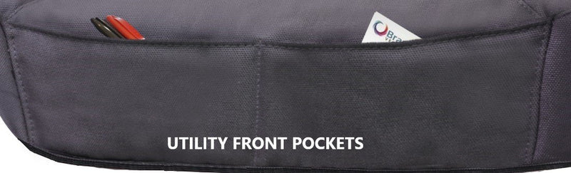 Tailor Made Challenger II Seat Covers for HOLDEN COLORADO RG SERIES 06/2012-ON SINGLE/DUAL/SPACE CAB UTILITY CHARCOAL