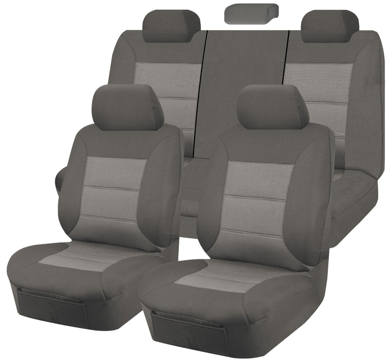 Tailor Made Premium Seat Covers for HOLDEN COMMODORE VE-VEII Series 08/2006 - 2013 4 DOOR SEDAN GREY