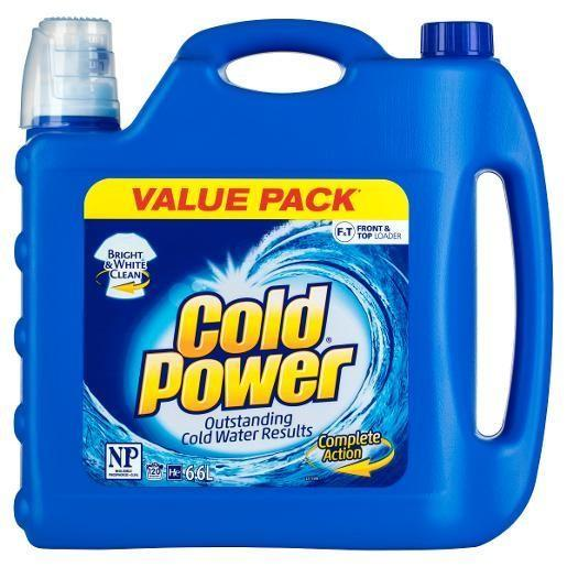 Cold Power Regular Front & Top Liquid 6.6L / 132 Washes