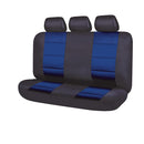 Universal El Toro Series II Rear Seat Covers Size 06/08H - Black/Blue