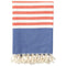 Shopstraya Neon Turkish Towel -  Orange Striped