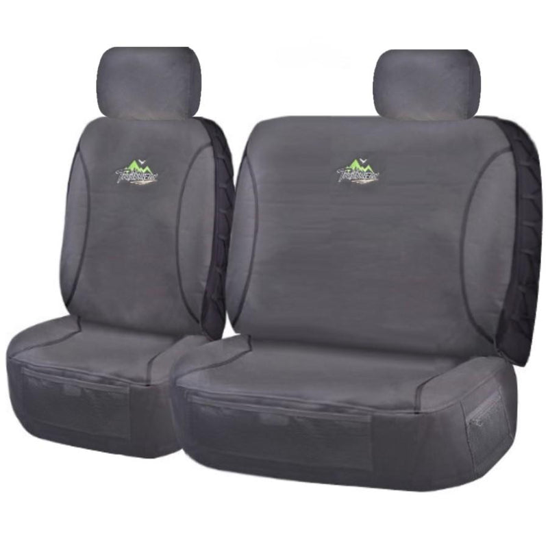 Tailor Made Trailblazer Seat Covers for NISSAN PATROL  GQ-GU Y61 SERIES 1999–2016 SINGLE CAB CHASSIS CHARCOAL