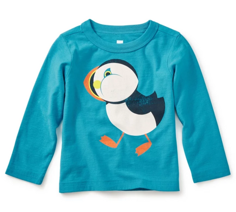 Puffin Baby Graphic Tee by Tea Collection