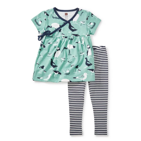 Seabirds Baby Outfit by Tea Collection - Size 6-9m