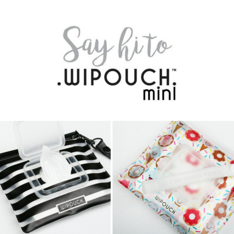 WIPOUCH Mini Refillable Wet Wipes Pouch