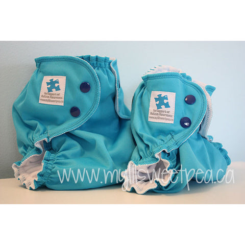 Hope: Autism Awareness AppleCheeks Cloth Diaper Cover