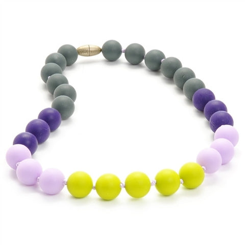 Juniorbeads Bleeker Jr Necklace - Chartreuse