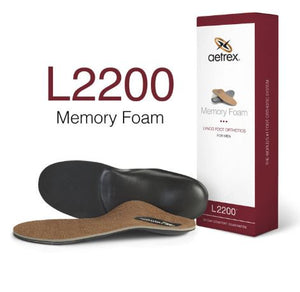 MENS MEMORY FOAM ORTHOTIC - L2200