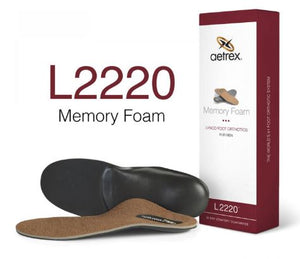 MENS MEMORY FOAM POSTED ORTHOTIC - L2220
