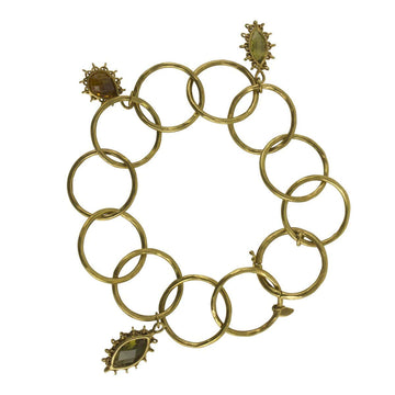 Anthony Nak Jewelry Anthony Nak <br> Olive Quartz and Citrine Bracelet
