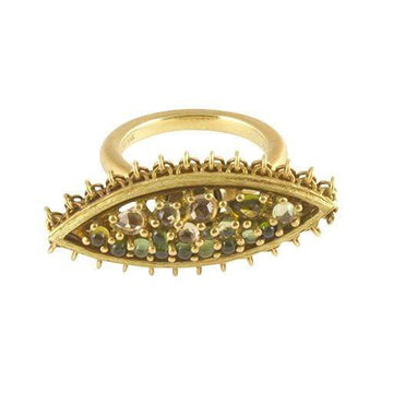 Anthony Nak Jewelry Anthony Nak <br> Tourmaline Swivel Ring 18K