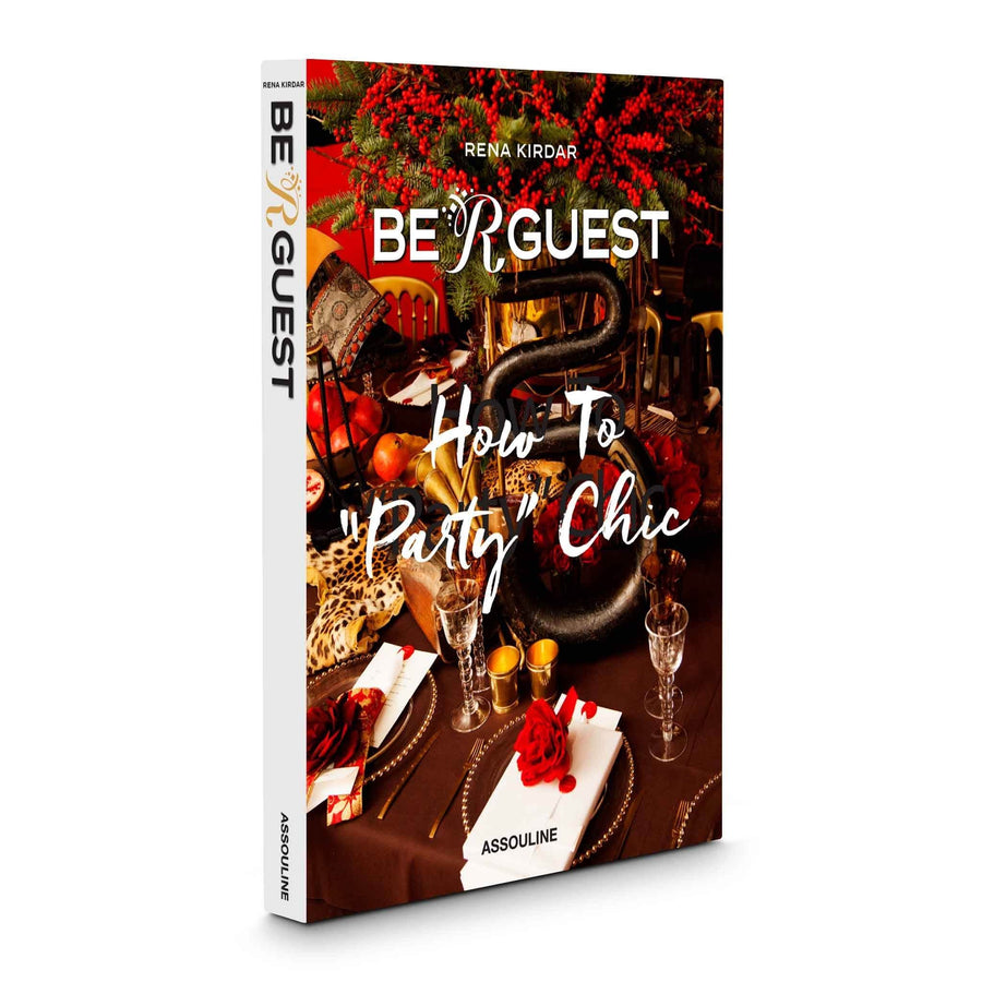 Assouline Books Be R Guest: How to