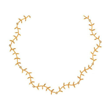Cathy Waterman Jewelry Curvy Wheat Necklace Cathy Waterman <br> Curvy Wheat Necklace