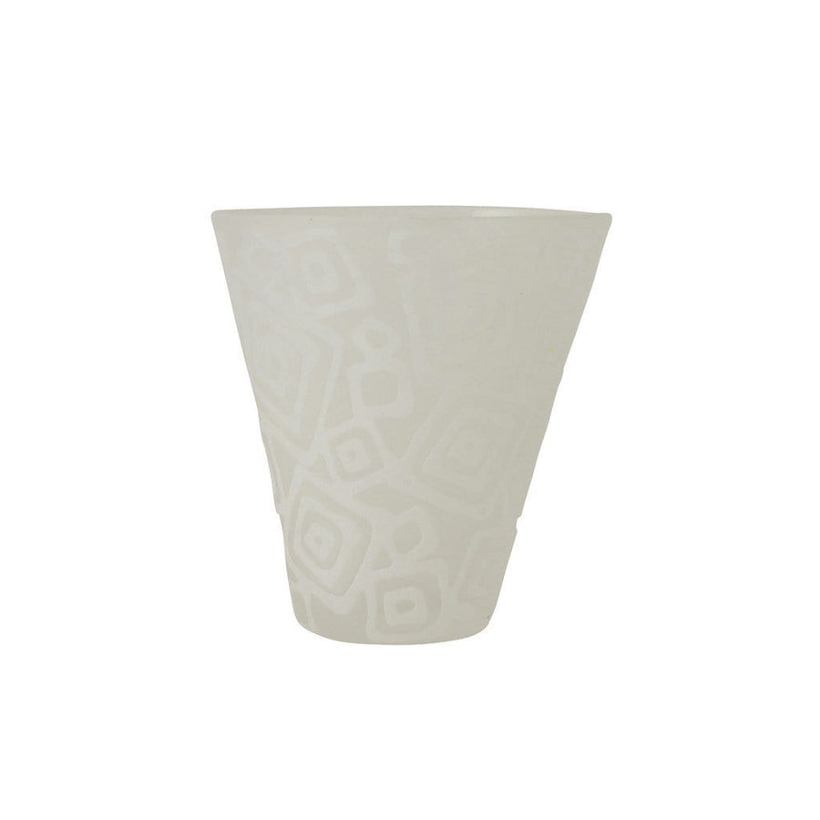 E+M Table Top E+M Doodle Tumbler in White (Multiple Designs)