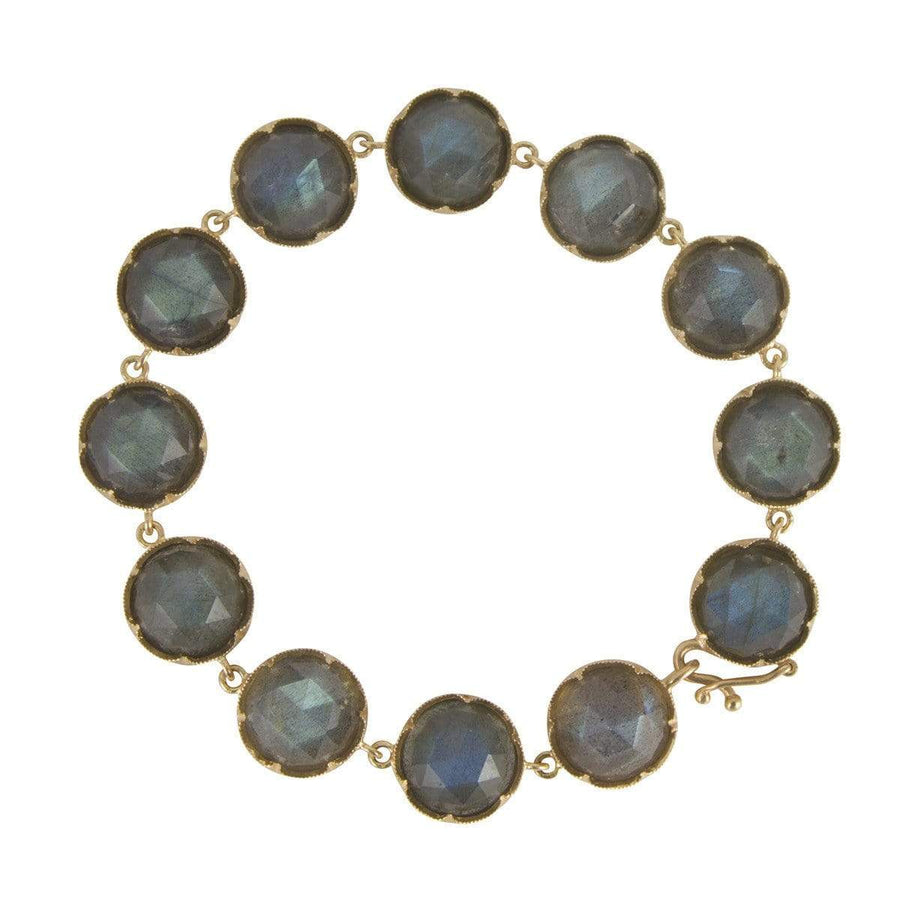 Irene Neuwirth Jewelry Default Irene Neuwirth Rose Gold and Labradorite Bracelet