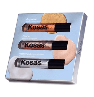 Kosås Eyeshadow Kosas 10-Second Eyeshadow Mixed Metals Trio