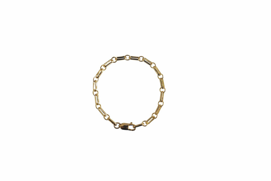 Laura Lombardi Jewelry Laura Lombardi  <br> Bar Chain Anklet